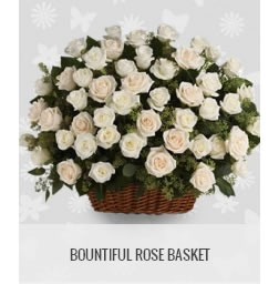 funeral flowers philippines bountiful rose basket