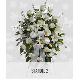 funeral flowers philippines standee